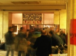 L'entrée du café Kulturalna un soir de concert