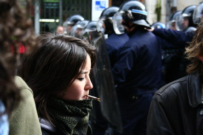 Manifestations lycéennes début mai 2008